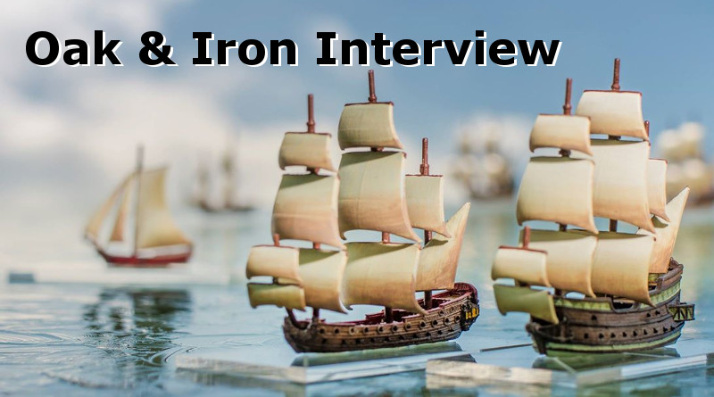 An Interview with Mike Tunez of Firelock Games about Oak & Iron the Miniatures Game Kickstarter
