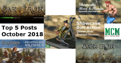Top 5 October 2018 Miniature Gaming Posts