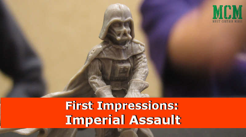 First Impressions of Imperial Assault (and Battle Report)