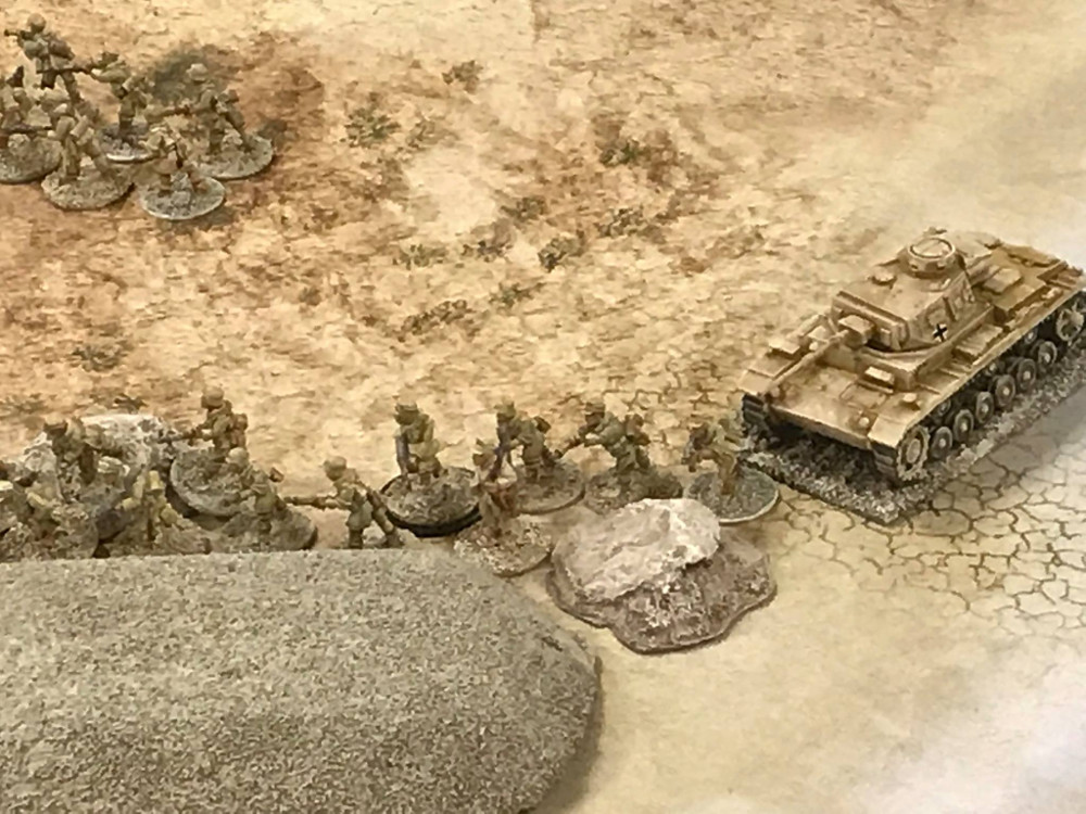 Chain of Command DAK vs British