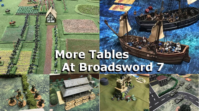 More Game Tables at Broadsword 7