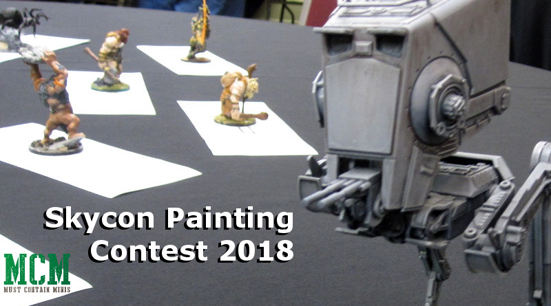 Painting Contest at SkyCon 2018