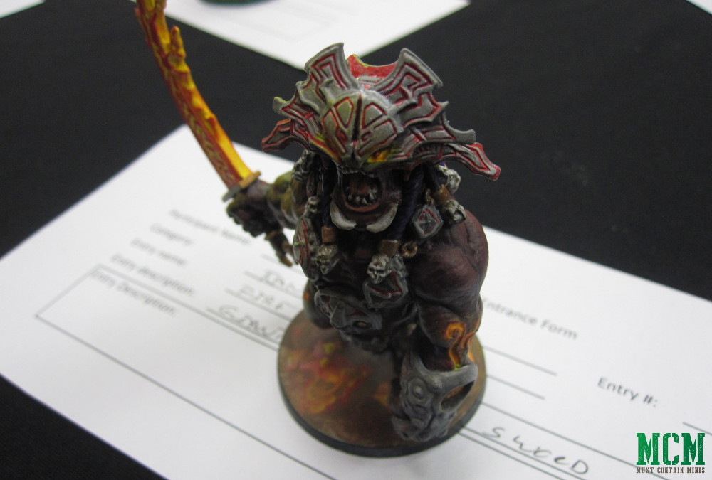 Fire Giant from CMON's Blood Rage Board Game