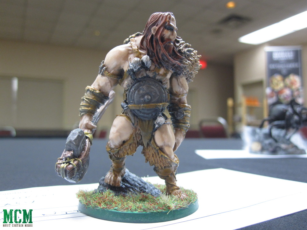 Painted Blood Rage Mountain Giant