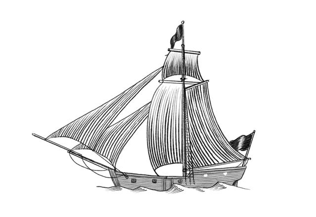 Black Beard's Ship