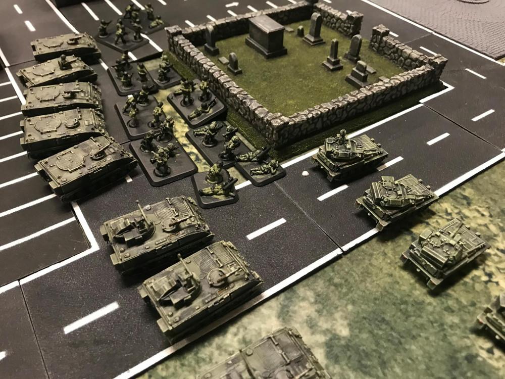 World War 3 miniatures game 15mm