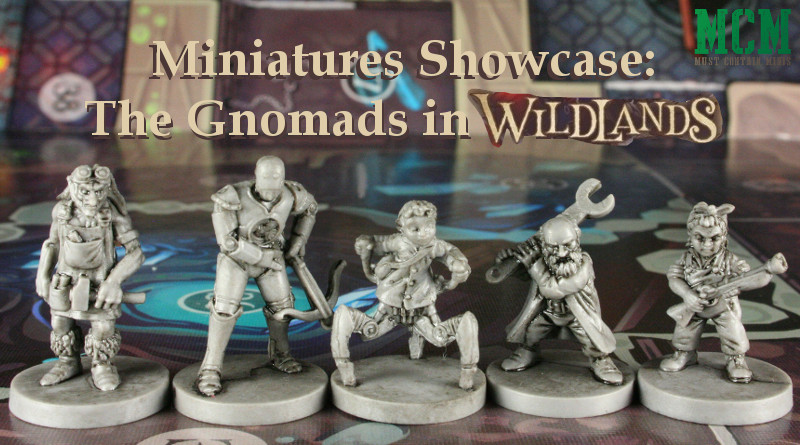 The Gnomads Faction miniatures of Osprey Games Wildlands