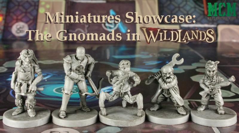 The Gnomads Faction miniatures of Osprey Games Wildlands
