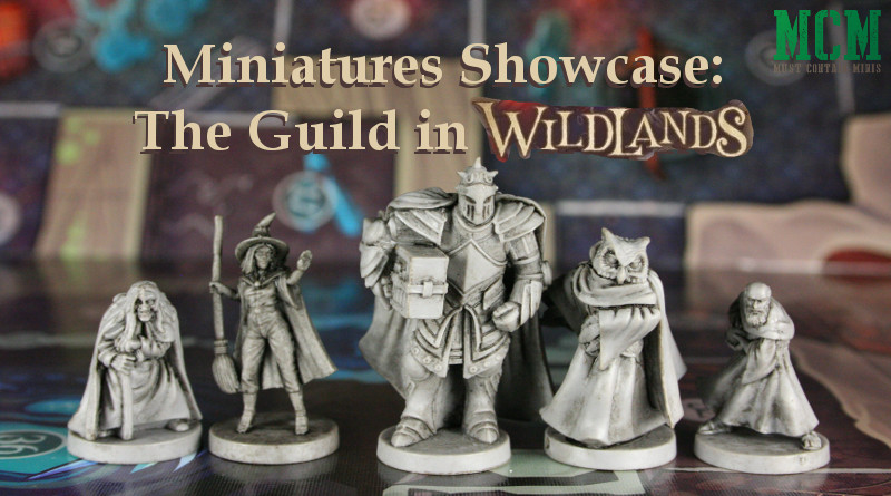 Wildland Miniatures of the Guild Showcase, Review, and Scale Comparison. Osprey Games
