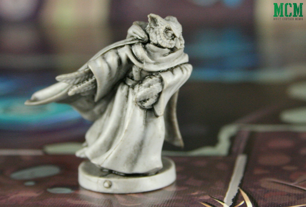 Hugo the Owl Wizard in Wildlands by Osprey Games and Martin Wallace