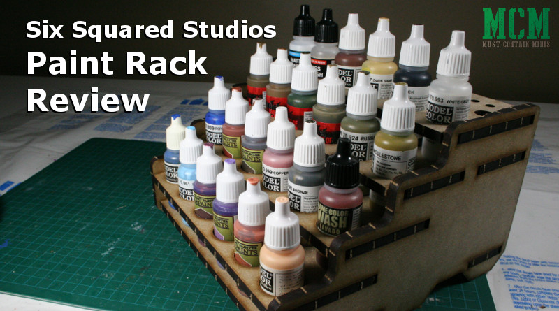 Review: Paint Rack for Dropper Bottles by Six Squared Studios