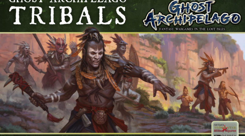 Frostgrave Tribals by Osprey Games and North Star Military Figures