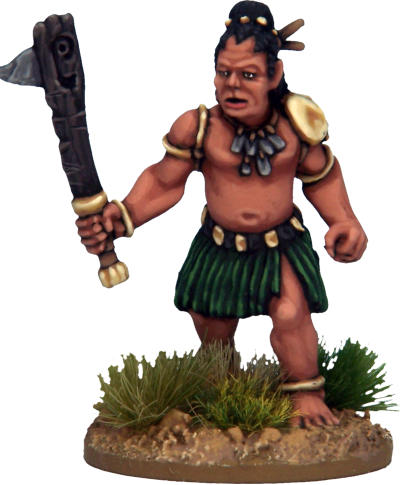 Frostgrave 28mm tribal miniature