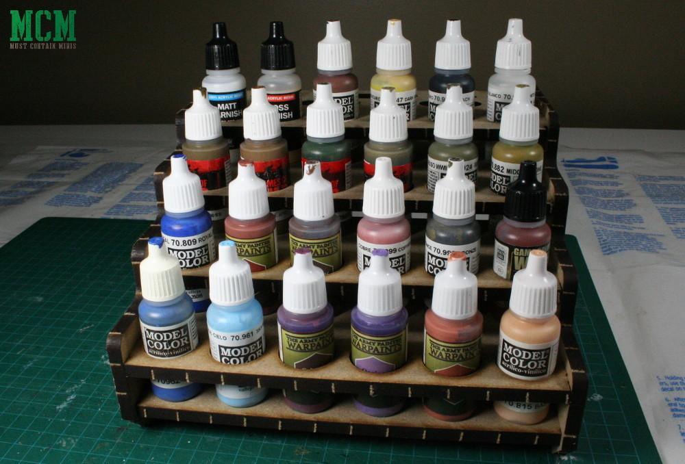 Miniature Wargame Paint Rack Review