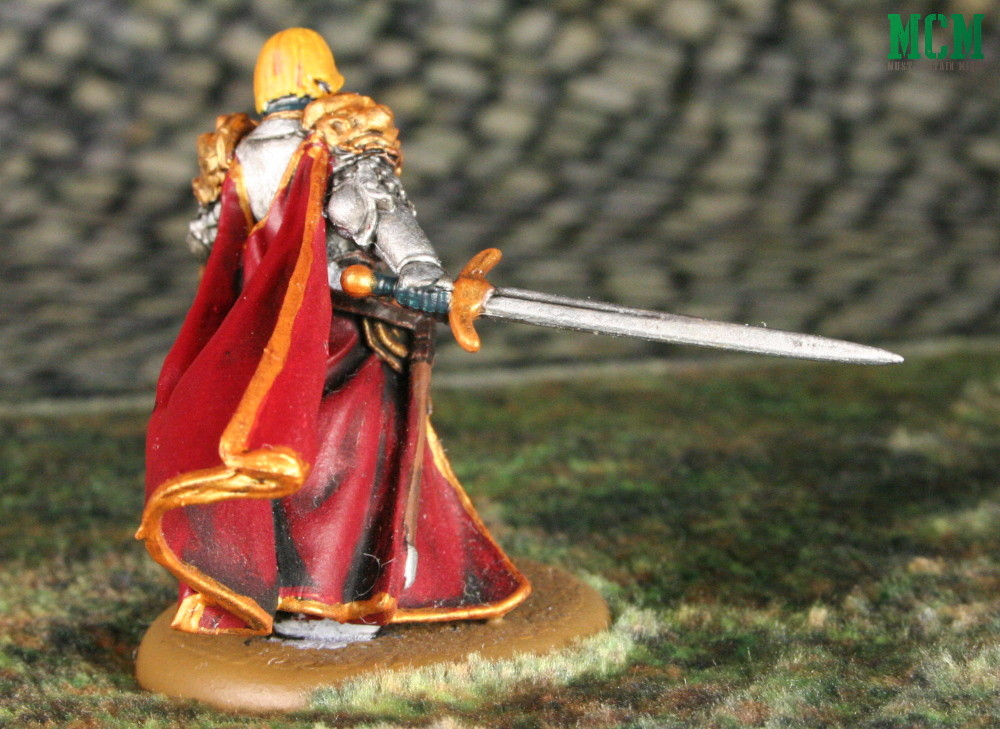 Jaime Lannister Painted Miniature - A song of fire and ice by CMON Games