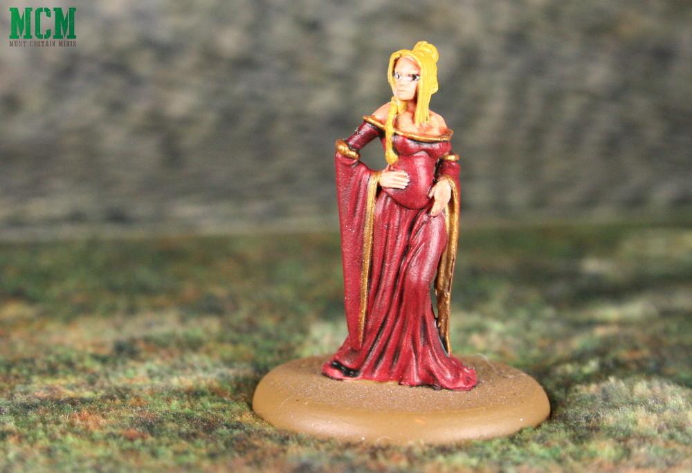 Cersie Lannister Painted Minaiture