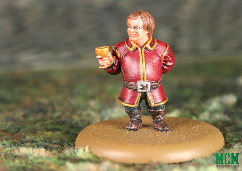 Miniature of Tyrion Lannister from a Song of Fire and Ice - A Game of Thrones