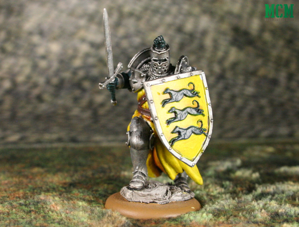 Miniature of Gregor Clegane The Mountain from A Song of Fire and Ice by CMON Games