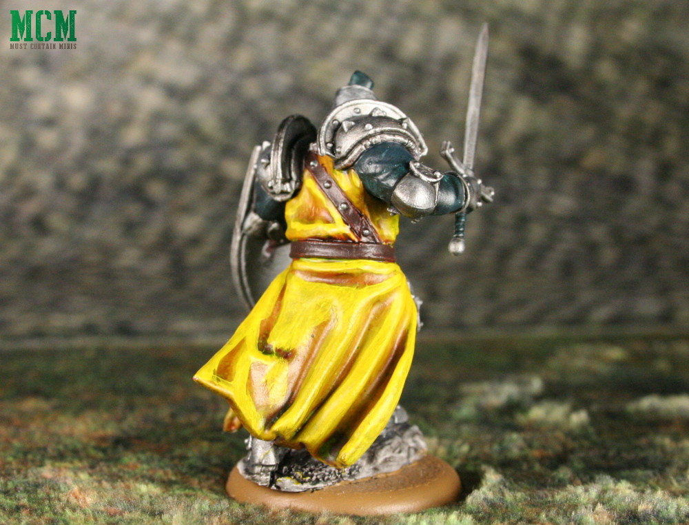 Lannister Miniature from A Game of Thrones Miniatures Game
