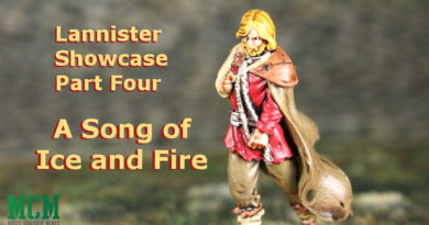 A Song of Ice and Fire Lannister Miniature Showcase