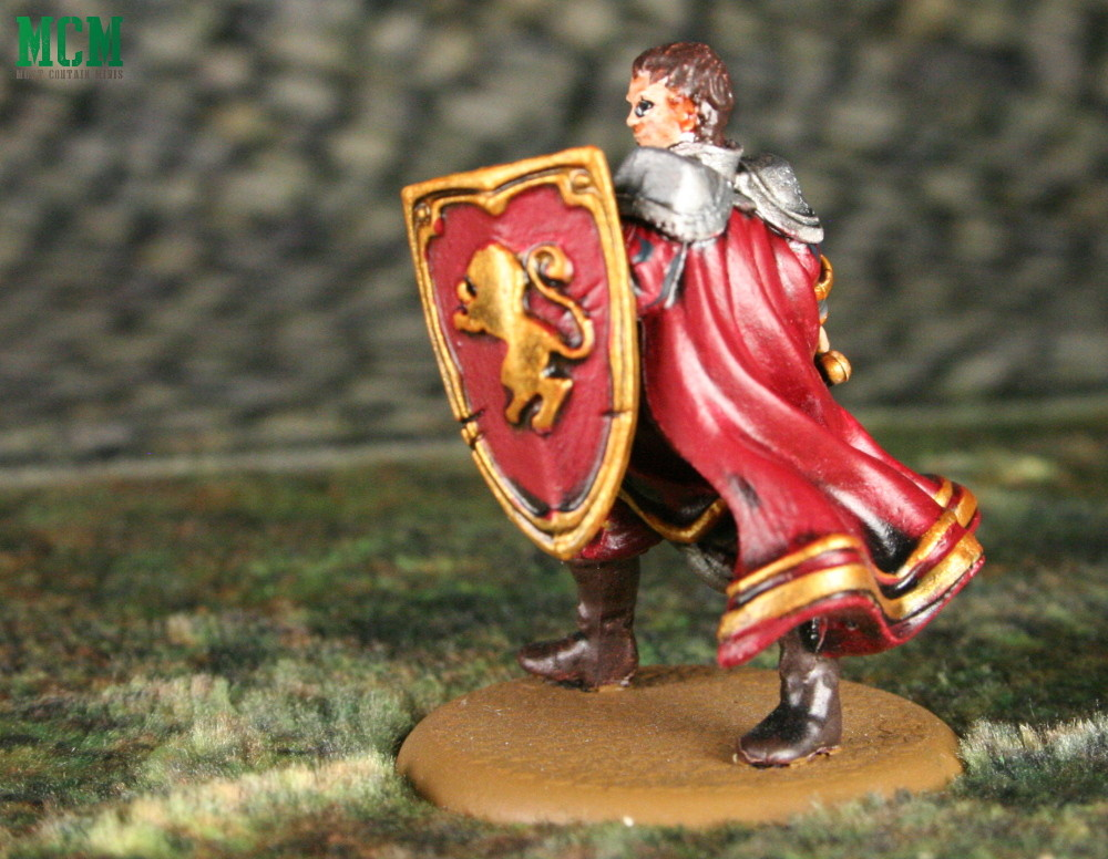 Lannister Painted Miniature from A Song of Ice and Fire by CMON Games