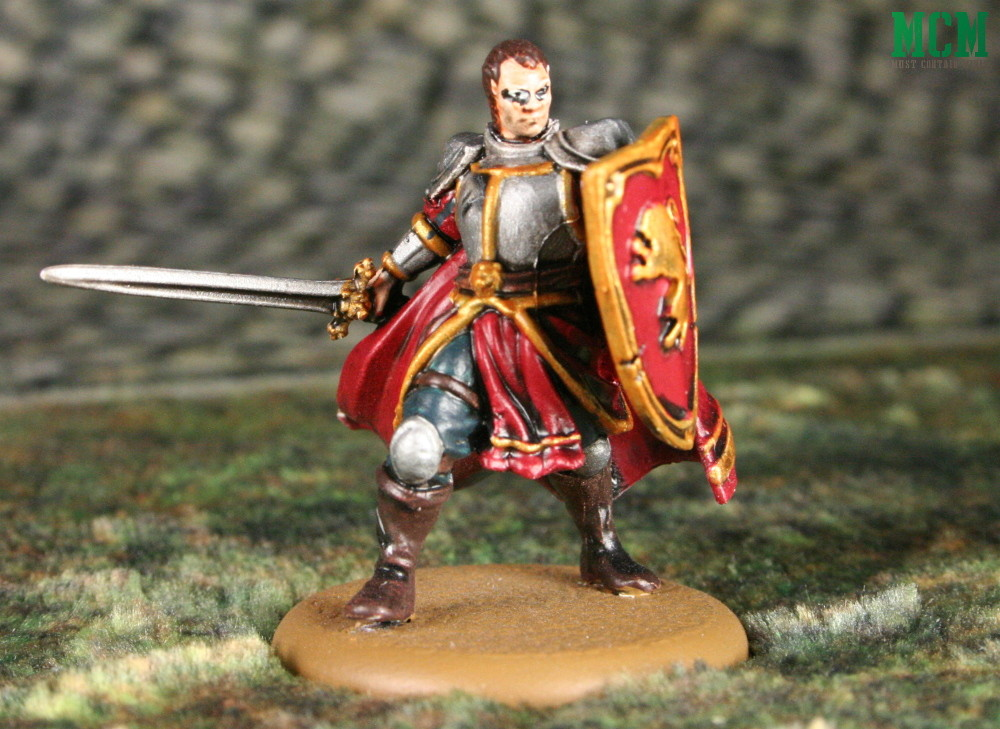 Lannister Captain of the Guards painted miniature