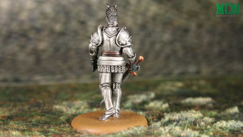 Miniature of the Hound from a Game of Thrones Song of Ice and Fire