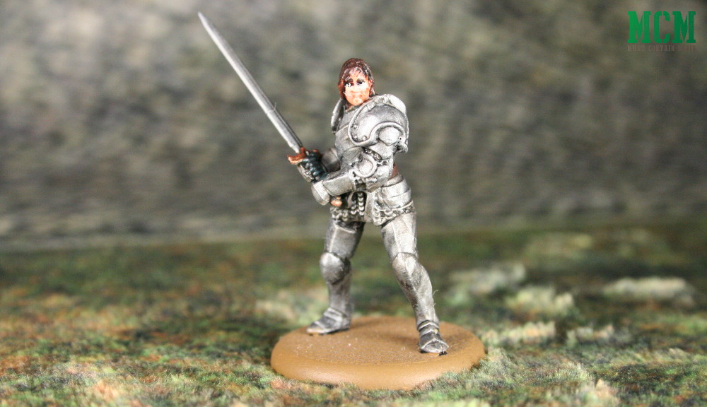 The Hound Painted Miniature for A Song of Fire and Ice by CMON