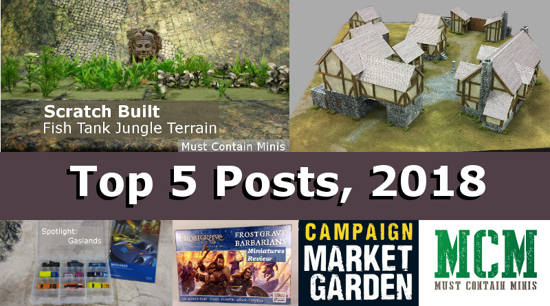 Top 5 Posts on MCM of 2018 - Must Contain Minis