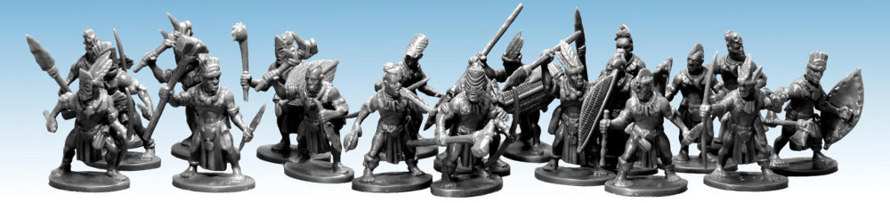 Frostgrave Tribal Warbands