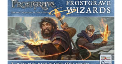Frostgrave Box Art for Plastic Wizards