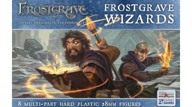 Plastic Frostgrave Wizards!!!