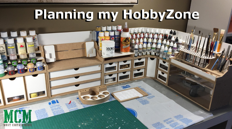 Planning my HobbyZone Modular Workstation