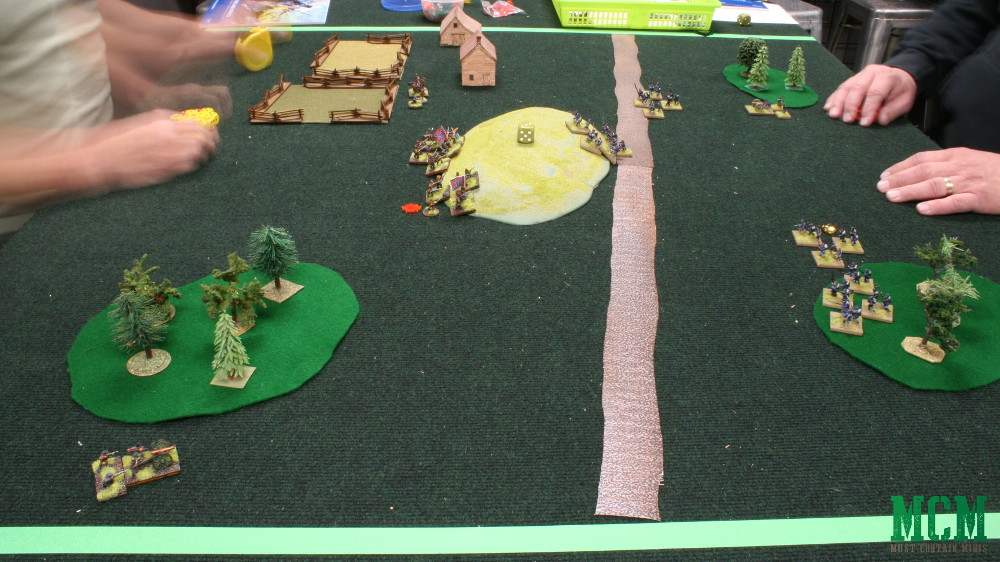 Civil War Tabletop Wargame Battle Report and Review