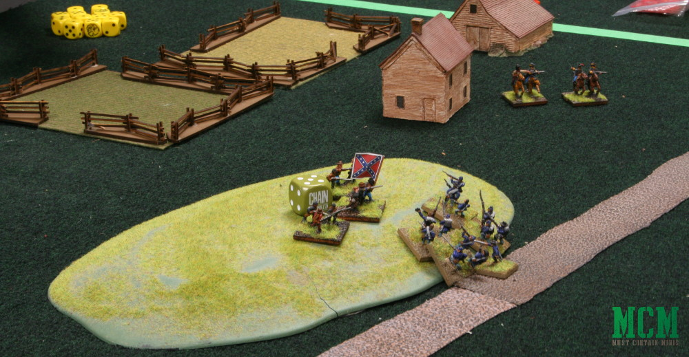 Retaking a Ridge in Rebels and Patriots - Battle Report and First Impressions Review