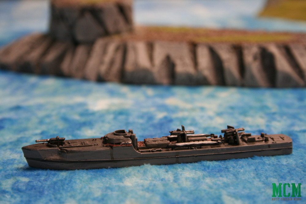 German E-Boat S-Boat Cruel Seas Miniature Warlord Games Painted
