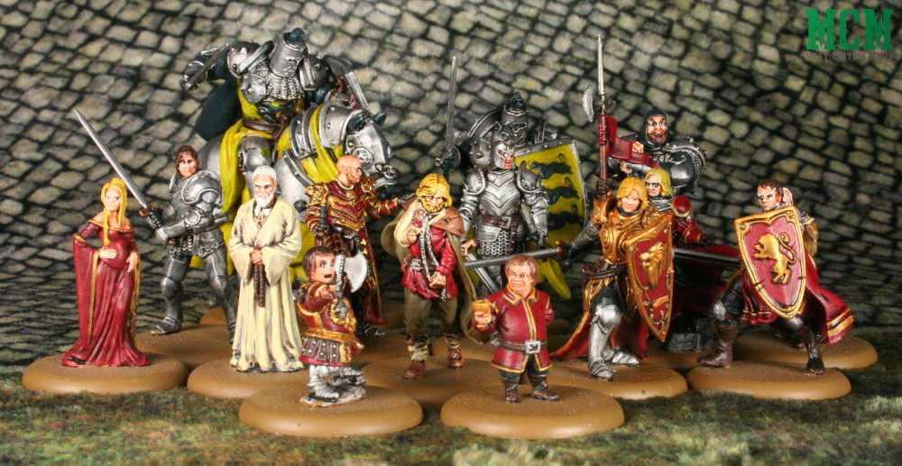 Lannister Miniatures - A Song of Ice and Fire - Game of Thrones
