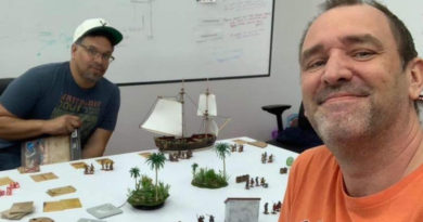 Trey Parker Plays Blood & Plunder - A Miniatures Game