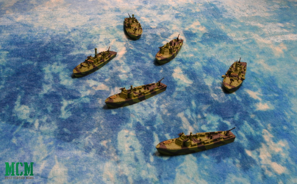 PT Boat Flotilla - Cruel Seas Miniatures