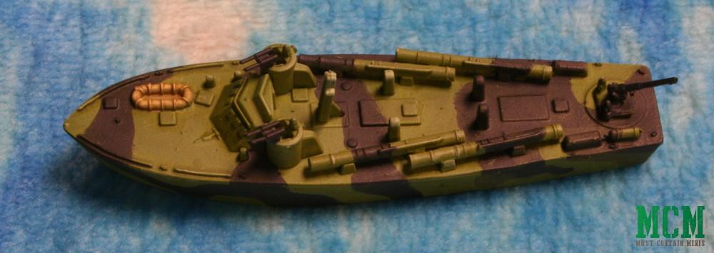 A Higgins PT Boat Painted in Cruel Seas