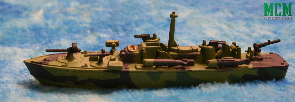 ELCO PT Boat miniature by Warlord Games 6mm.