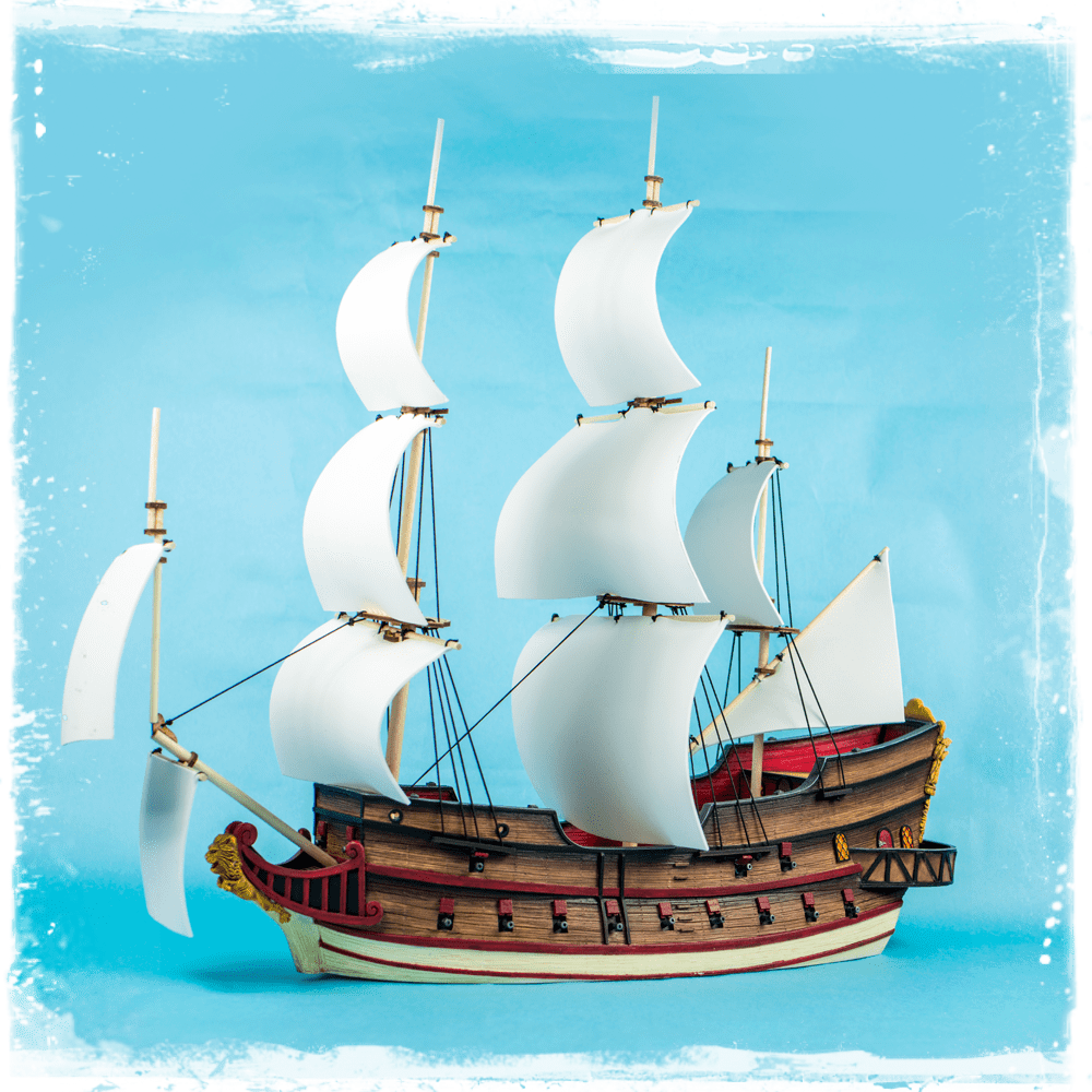 Blood & Plunder 32mm Galleon
