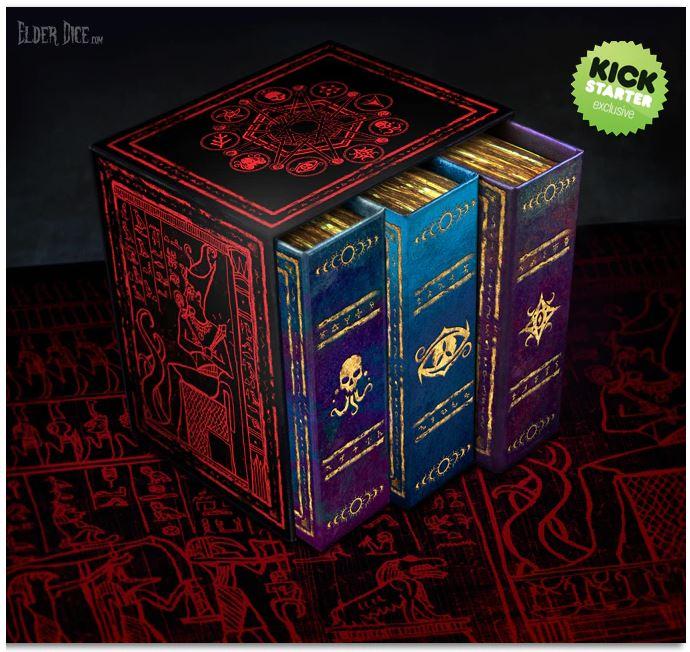 the Elder Dice Collectors Set Kickstarter