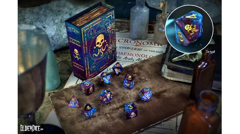 Elder Dice: The Colours Out of Space Kickstarter