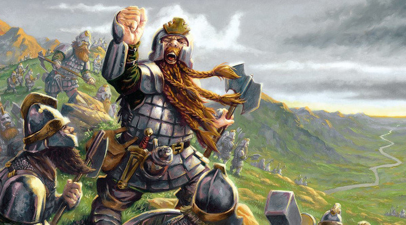Heavy Dwarfs by Osprey Games and North Star Military Figures for Oathmark