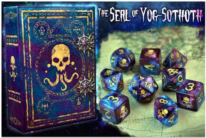 The Seal of Yog Sothoth Elder Dice