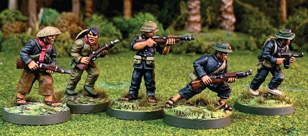 Vietnamese Soldiers in 28mm