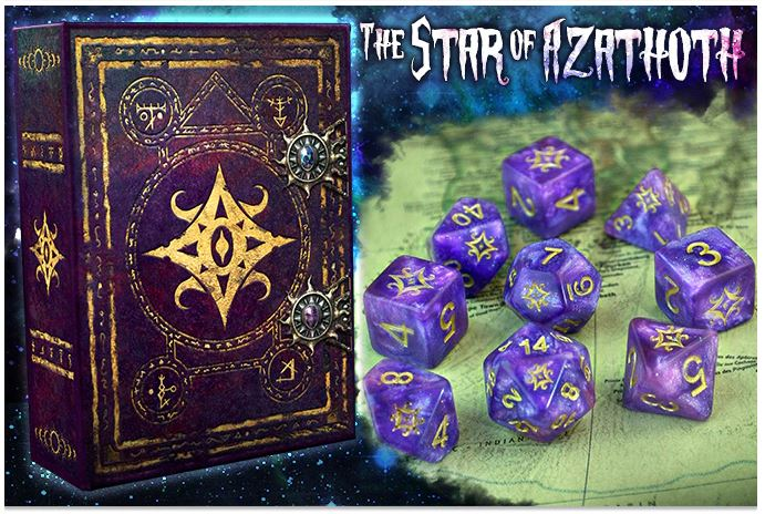 Star of Azathoth Elder Dice Collection