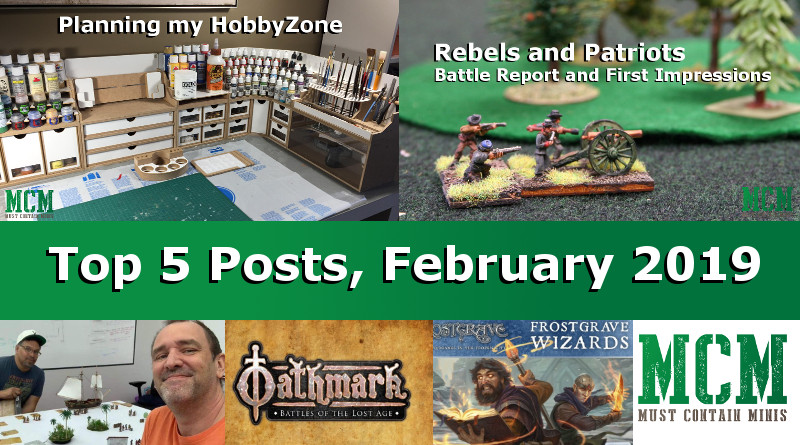 Top 5 posts on MCM (Must Contain Minis) for February 2019