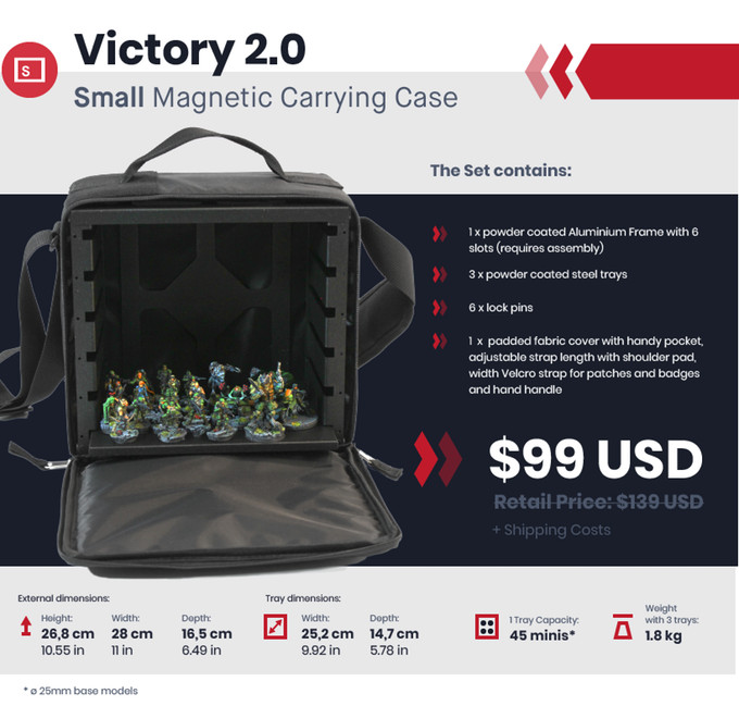 Victory 2.0 Miniature Carrying Case